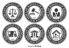 Law Office Badge Set