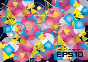 Fondo abstracto colorido colorido del vector