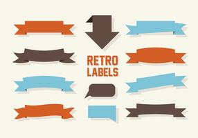 Gratis Labels Vector Collectie