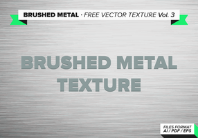 Gebürstetem Metall freien Vektor Textur vol. 3
