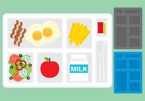 School Lunch Tray vectors