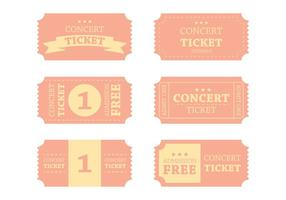 Vintage Vintage Ticket Vector