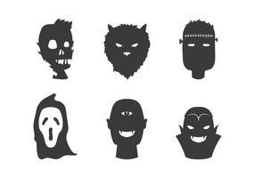 Zombie en Vrienden Vector