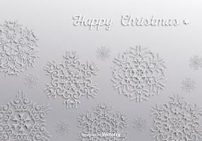 Carta da parati fiocchi di neve