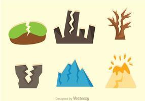 Jordbävningseffektvektorer