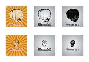Gratis Podemos Hacerlo Vector Ilustración