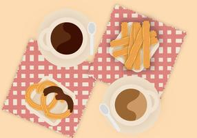 Churros Gratis Vector