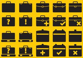 Vector Suitcase Icons