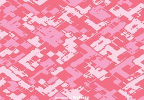Diagonal Abstract Pink Camo Vector