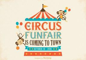 Old Circus Poster Vector