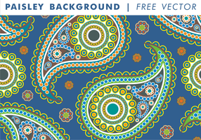 Paisley Background Vol. 2 vecteur gratuit