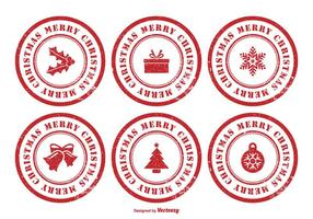 Kerstmis Rubber Stamp Set