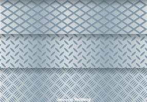 Aluminum Metal Grid vector