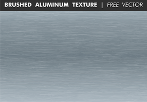Brushed Aluminum Texture Free Vector