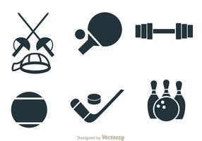 Sport Items Vectoren