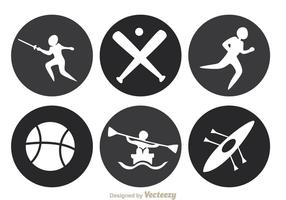 Sport Circle Icons