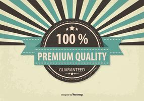 Retro Promotional Premium Quality Illustration
