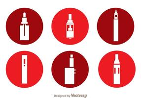 Vape Circle Icons
