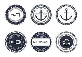 Nautical Badge vector