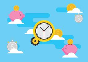 Time Is Money Illustration