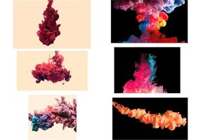 Colored Smoke Vector Effect