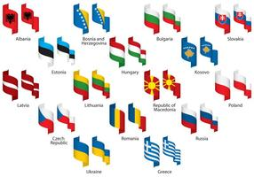 Eastern Europe Ribbons