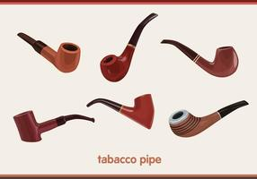 Tabacco pipe vectors