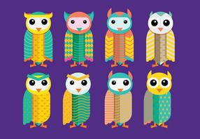 Barn Owl Vectors