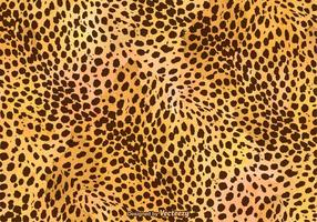 Fondo de vector libre leopardo de impresión