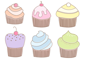 Free Muffins Vector