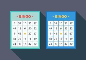 Vector Bingo Tarjeta