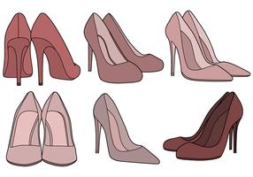 Vector de sapatos grátis