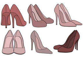 Kostenlose Schuhe Vektor
