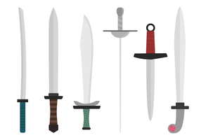 Free Swords Vector