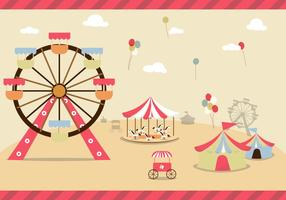 County Fair Free Vector