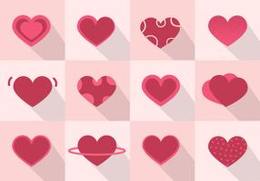 Free heart vector