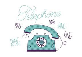 Teléfono Vector Libre