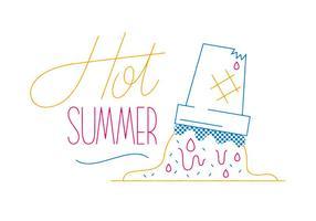 Vector libre del verano
