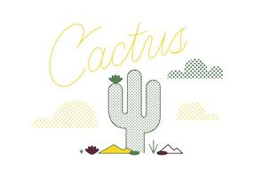 Vector Cactus Libre