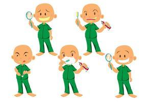 Saubere Zähne Vektoren