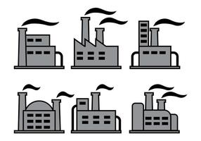Factory-Icons-Vektoren