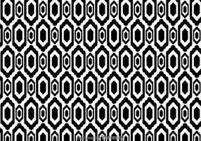 Ethnisches Schwarz-Weiß-Muster