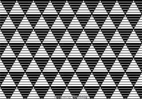 Stripe Triangles Svartvit bild