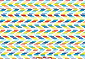 Rainbow Zig Zag Background