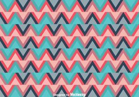 Ethnic Zig Zag Background vector