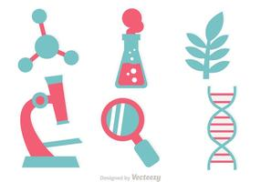 DNA Research Icon Vectors