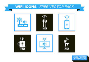 Wifi Pictogrammen Gratis Vector Pack
