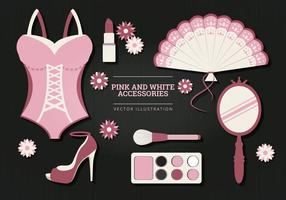 Accessories Vector Illustration