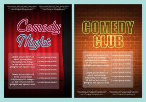 Comedy Club Flyer