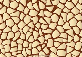 Girrafe Print Brown Background